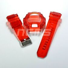 G-SHOCK GDX6900 Band and Bezel Jelly Ice Custom Red