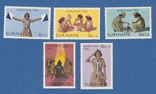 Suriname 1961 bambini child girl scout jamboree jamborette MNH**og