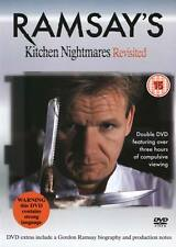 Ramsay's Kitchen Nightmares Revisited (2 Disc DVD) 195 Mins Approx.