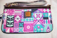 """AUTHENTIC DISNEY PARKS """"IT'S A SMALL WORLD"""" WRISTLET WALLET BY DOONEY & BOURKE 4"""