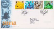GB ROYAL MAIL FDC FIRST DAY COVER 1998 CARNIVAL  STAMP SET LONDON PMK
