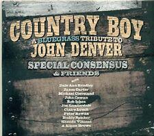 COUNTRY BOY: A BLUEGRASS TRIBUTE TO JOHN DENVER   CD NEUF