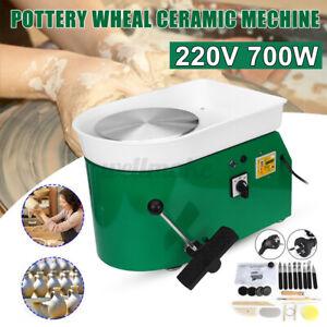 700W Electric Pottery Wheel Machine DIY Ceramic Art Tool Clay Craft Making 25cm
