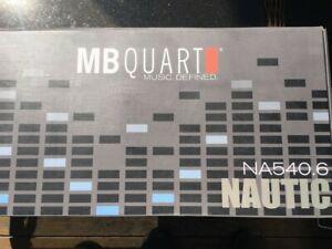 MB Quart Six Channel 540 Watt Nautic Series Marine Class AB Amp (NA540.6)