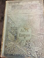 Antique The Pickwick Papers Charles Dickens Alta Edition Porter & Coates 1800's