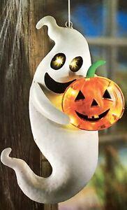 Geist mit Kürbis mit LED beleuchtet NEU Innen und Aussen toll für Halloween