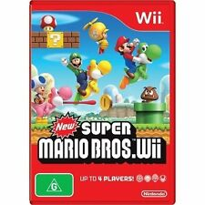 New Super Mario Brothers For Nintendo Wii Very Good 2Z