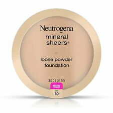 Neutrogena Mineral Sheers Lightweight Loose Powder Makeup Foundation Tan 80