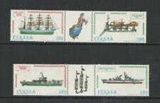 ITALIA . Año: 1980. Tema: CONSTRUCCIONES NAVALES, (IV).