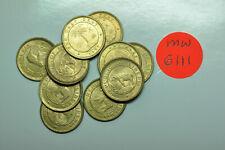 BU  KM#10 Elephant mw6646 Liberia; 1//2 Cent 1937  50 coins from Mint Bag
