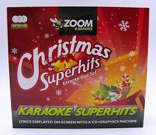 More details for zoom karaoke cd+g - ultimate christmas superhits - 3 cd+g discs - 70 tracks