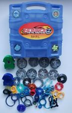 Beyblade Metal Masters Hasbro Lot with Carrying Case Used