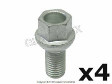 Mercedes Wheel Lug Bolt For Steel Wheel Set of 4 FEBI +1 YEAR WARRANTY