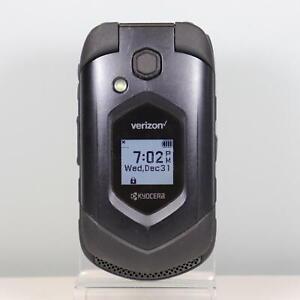 Kyocera DuraXV LTE (Verizon) 4G LTE, 16GB, Flip Phone Black - NO CAMERA