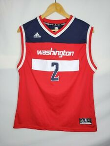 Adidas Washington Wizards John Wall Basketball Jersey Size XL Youth Boys NBA