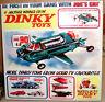 DINKY TOYS thunderbirds, joe's car,captain scarlet Limited Edition CERAMIC TILE