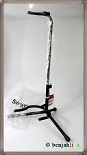 Stagg SG-50 BK Gitarrenständer 3 Füße klappbarer Kopf Gitarre Ständer schwarz