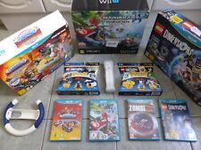 Mario Kart 8 Boxed Nintendo Wii U Console 32GB Premium Pack Bundle + Extras!
