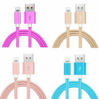 3-Pack 10FT USB Data Charger Cables Cords For Apple iPhone 6 7 8 X XS XR Plus 7+