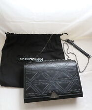 Emporio Armani stud appliques cross-body leather bag for wallet clutch jacket