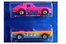 1990 Hot Wheels California Custom Freeway Frenzy '63 Corvette & '65 Mustang