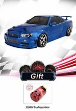 MST MS-01D RTR 4WD RC Drift Car- NISSAN R34 GT-R + 10.5T BrushlessMotor