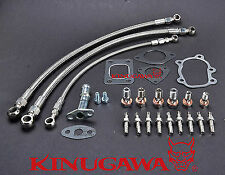 Turbo Oil & Water Line for Nissan S14S15 Garrett T25 T28 Journal Bearing SR20DET