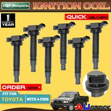 6x Ignition Coil for Toyota Landcruiser Prado GRJ120 Hilux 4Runner 9091902248