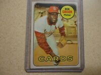 1969 TOPPS BOB GIBSON ST. LOUIS CARDINALS NICE CONDITION #200