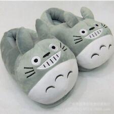 Cartoon My Neighbor Totoro Plush Cotton Slippers Household Shoes Warm Winter 044
