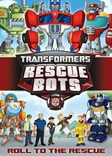 TRANSFORMERS  RESCUE BOTS: RODAR A LA Rescue (DVD) Region 1 sellado