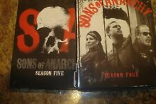 SONS OF ANARCHY SEASON 4 AND 5 BLURAY