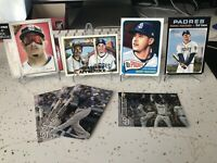 Manny Machado Lot Of 9 San Diego Padres