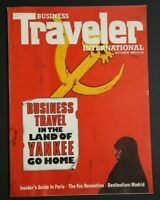 💎BUSINESS TRAVELER INTERNATIONAL OCT 1988 GUIDE TO PARIS MADRID💎