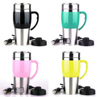 400ML 1PCS Car Heating Cup Outdoor Travel Boiled Water Tea Coffee Multicolor 12V