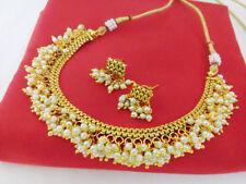 Indian Fashion Jewelry chandani Necklace set bollywood ethnic traditional 1326