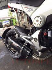Low Mount Exhaust Full System Stainless For Honda grom msx all model 2013-2018
