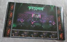 Testament 1990 Alex Skolnick Brockum LIVE Concert Music Poster #P7105 VGEX C7
