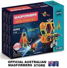 Genuine MAGFORMERS Space Episode Set 55 pcs - 3D Magnetic construction buildings
