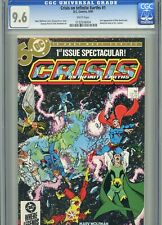 Crisis on Infinite Earths 1 CGC 9.6 White Pages