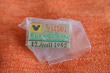 12614 PIN'S PINS EURO DISNEY VITTEL OUVERTURE 12 AVRIL 1992
