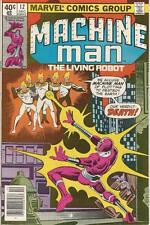Marvel Comics Machine Man Vol One (1978 Series) #12 VF- 7.5
