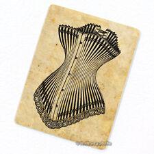 Corset #2 Deco Magnet, Decorative Fridge Refrigerator Antique Garment Figure