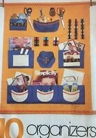 Simplicity Sewing Pattern 121 House Organizers Travel Kitchen Shoes Sewing Bed