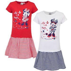 Minnie Mouse Set für Mädchen T-Shirt Sommer Set Kleid