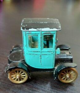 Vtg Tootsietoy Green Black 1906 Cadillac Tootsie Toy Die-Cast Car Chicago1960's