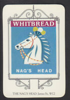 Whitbread - Inn Signs London 1973 - # 10 The Nag's Head - James Street