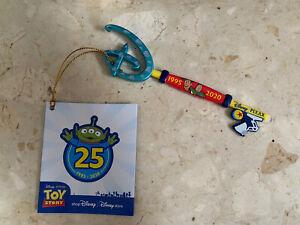 Disney Store Pixar Toy Story Key  25th Anniversary