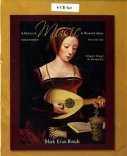 CD Set Volume I for A History of Music in Western Culture (Vol 1), Mark Evan Bon