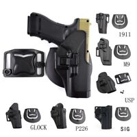 Tactical Right Hand Drop Leg Thigh Pistol Holster for GLOCK M1911 M92 P226 G17